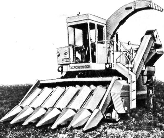 Запчасти на комбайн самоходный кукурузоуборочный ХЕРСОНЕЦ-200 КСКУ-6А