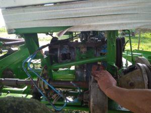 Переоборудование коробки конической и цилиндрической передачи на ГСТ (на гидромуфты) косилки-плющилки Е-301 Е-302 Е-303