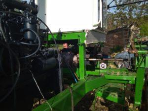 Переоборудование на гидростатическую трансмиссию. Цена на переоборудование коробки конической и цилиндрической передачи на гидромуфты ГСТ косилки-плющилки Е-301 Е-302 Е-303 сезонная