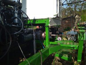 Переоборудование на гидростатическую трансмиссию. Наши работы по переоборудованию коробки косилки-плющилки Е-301 Е-302 Е-303 конической и цилиндрической передачи на ГСТ